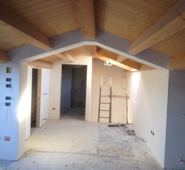 copertura in legno ferretti costruzioni